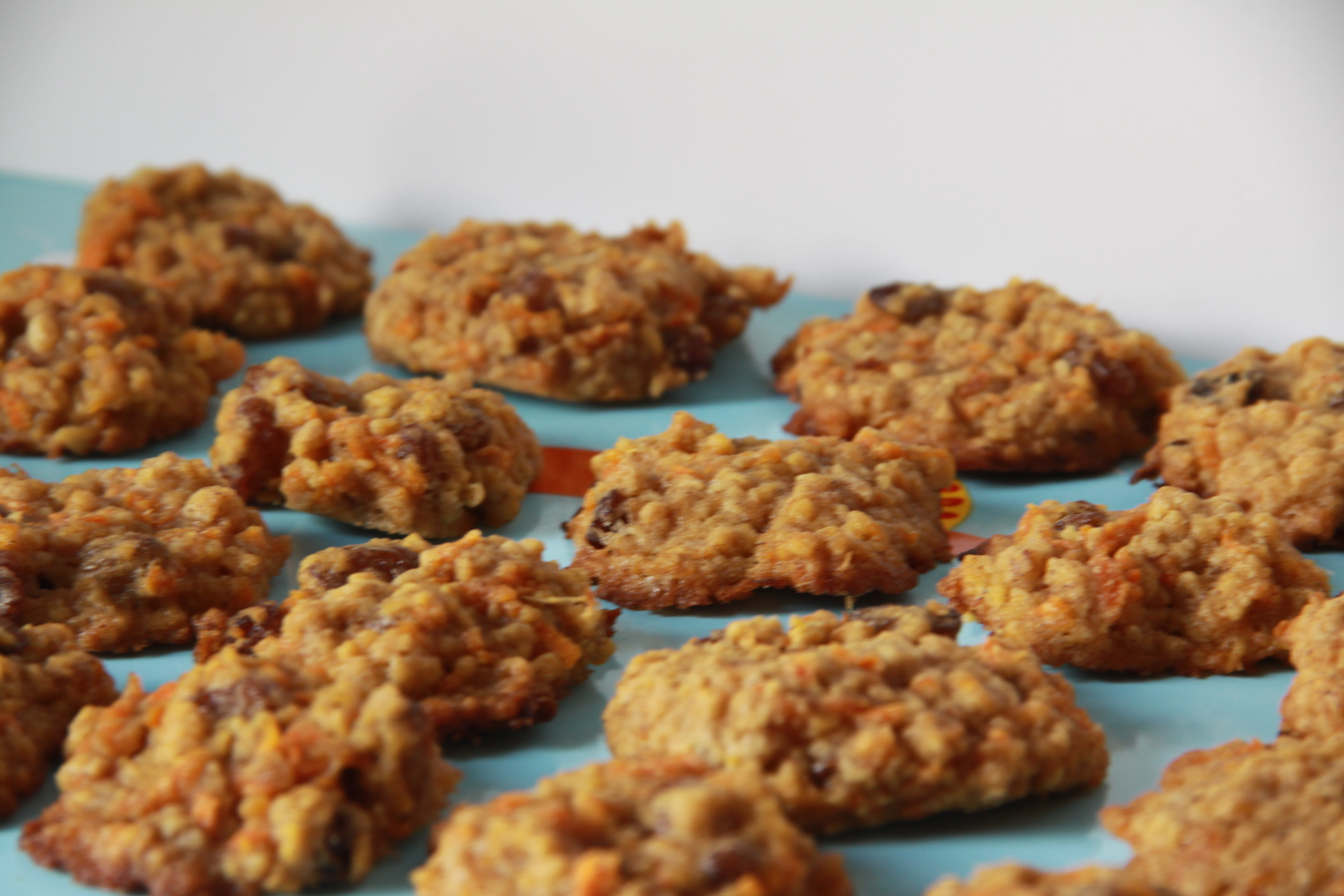 Carrot cake cookies, Foodlets.com