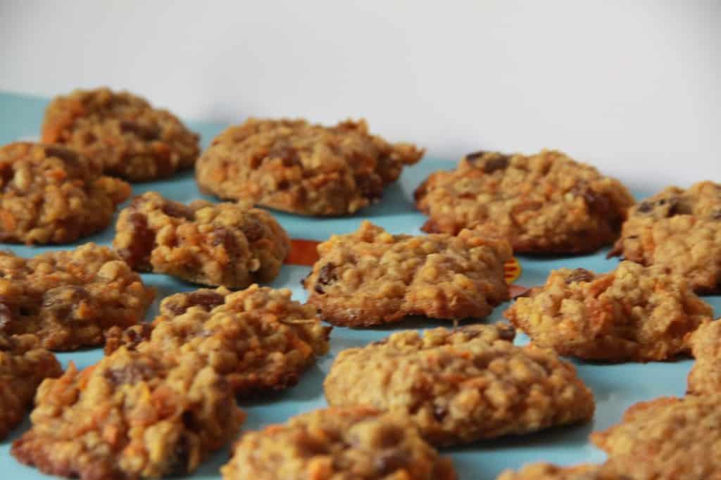 Carrot andraisincookies