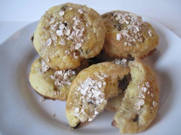 Barefoot Contessa Makeover: Oatmeal raisin scones