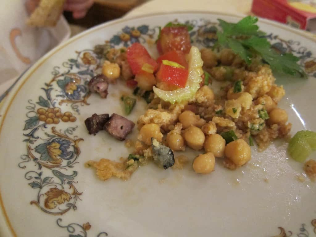 Slow food lunch: Chickpeas like I've never seen (or tasted)