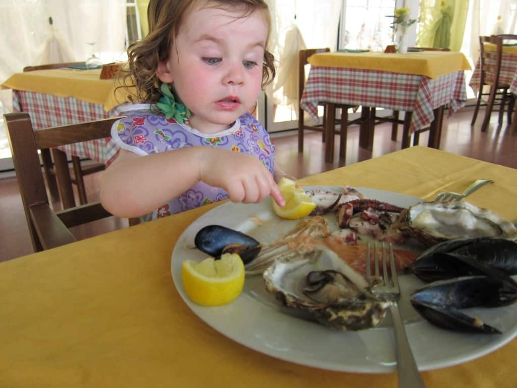 how to get toddlers to try seafood
