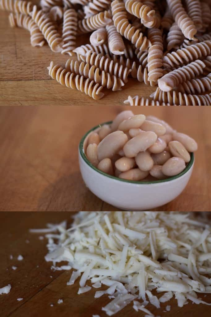 Pasta cups ingredients