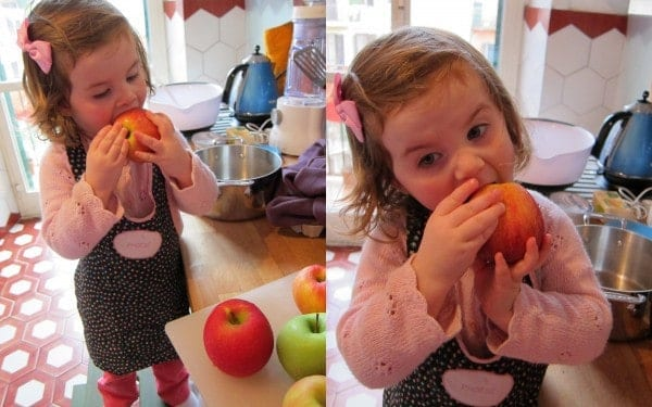 Little Miss I Don't Like Apples