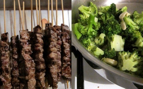 Arrosticini, meat on a stick (aka the easiest sell ever)