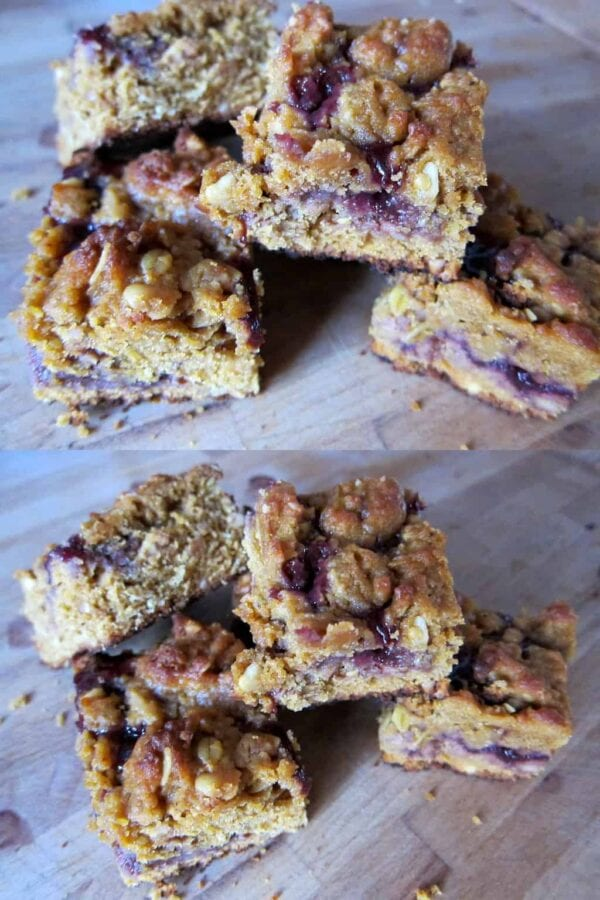 Barefoot Contessa Makeover Peanut Butter Jelly Bars Pb