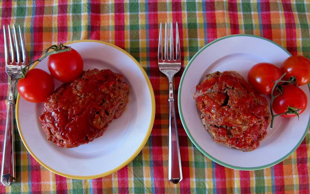 Mini meatloaf on Foodlets.com