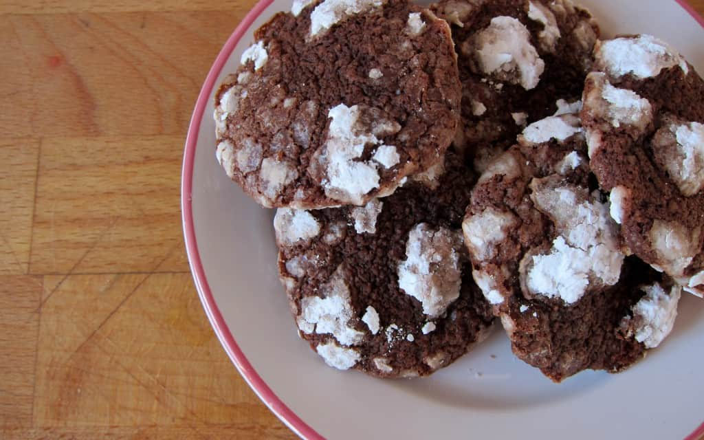 Cookie Recipe Makeover: Martha Stewart's Chocolate-Espresso Snowcaps