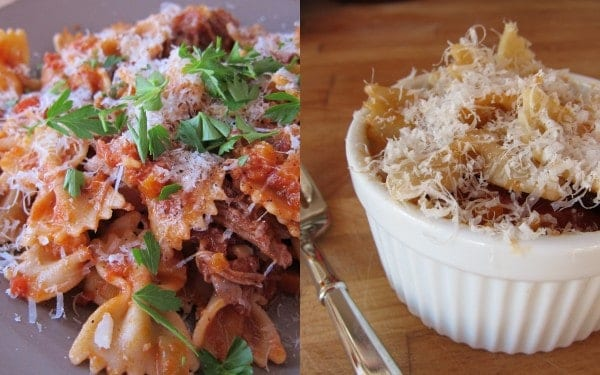 ... pasta with slow roasted duck recipe dishmaps pasta with slow roasted