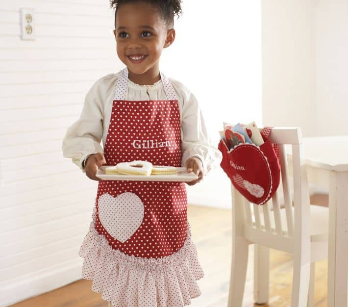 apron from pottery barn kids