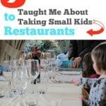 5 things living in Italy taught me about taking small kids to restaurants