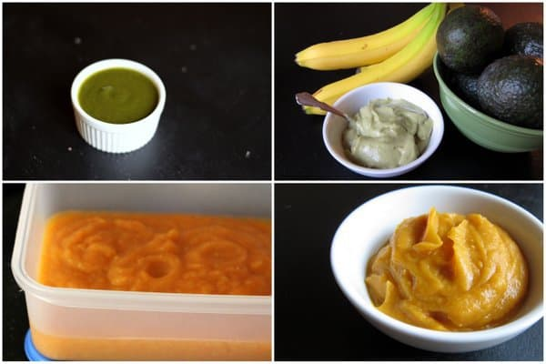 homemade baby food on foodlets