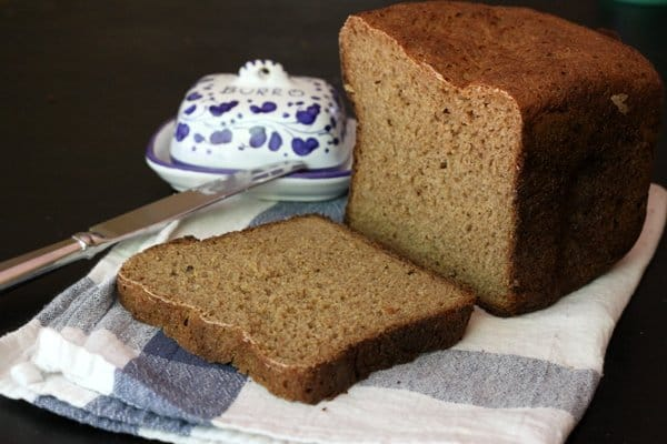 homemade whole wheat apple bread