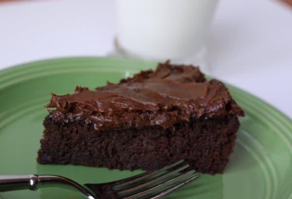 flourless black bean chocolate cake. yep. We