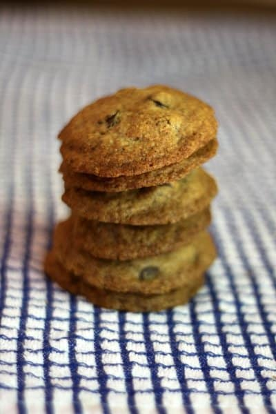 just add almond meal. a new (healthier) chocolate chip cookie recipe!