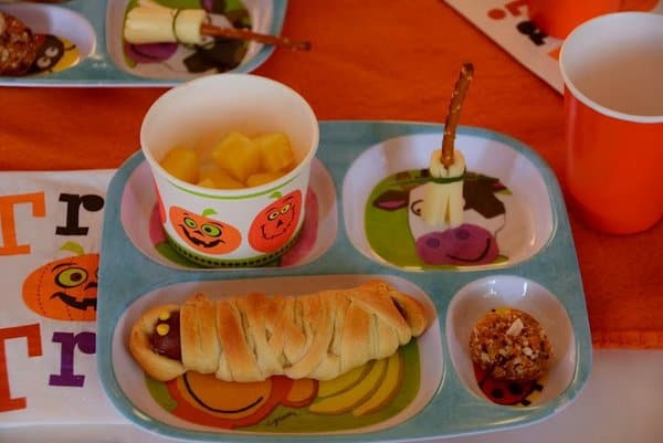 halloween party food for preschoolers