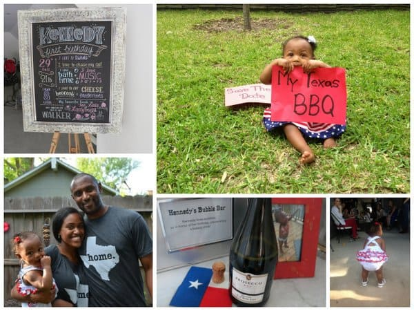 the cutest texas bbq you'll ever see: kennedy's first birthday party!