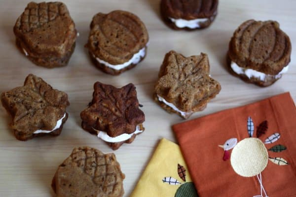 maple syrup sweet potato whoopie pies