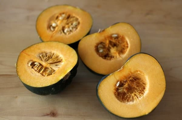 maple roasted acorn squash