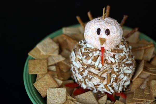 turkey cheese ball, foodlets