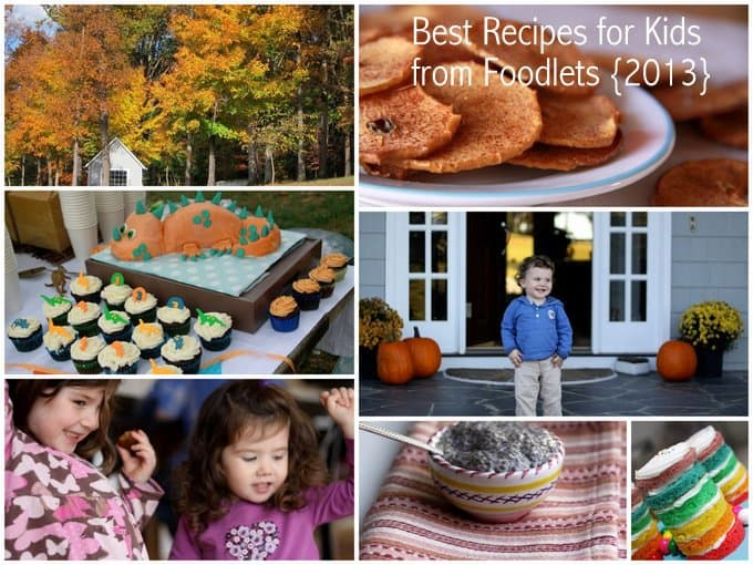 best kids' recipes of the year, foodlets