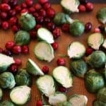 brussels sprouts with cranberries