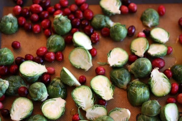 a new spin on…brussels sprouts: just add cranberries