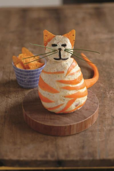 nacho cat, a cheese ball recipe for kids