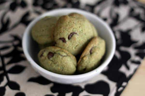 healthier mint chocolate chip cookies, foodlets