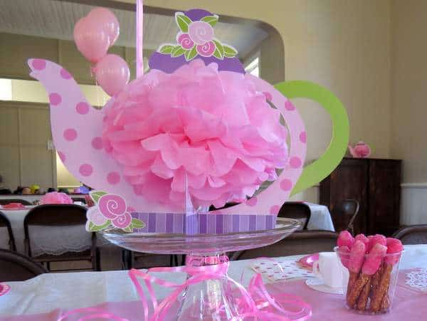 A Pink Tea Party Birthday Theme Perfect For 4th