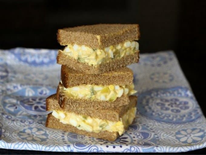 Very Pickly Egg Salad
