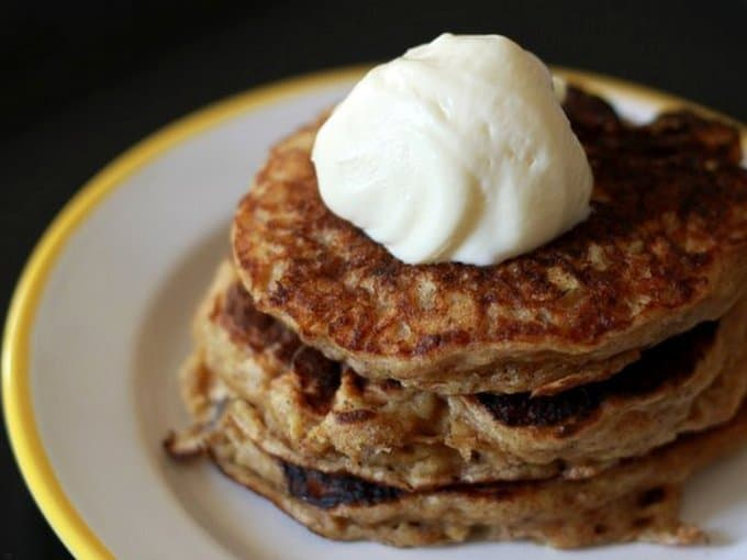 carrot cake pancakes for kids, foodlets