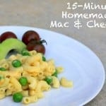 15-minute homemade mac & cheese for kids
