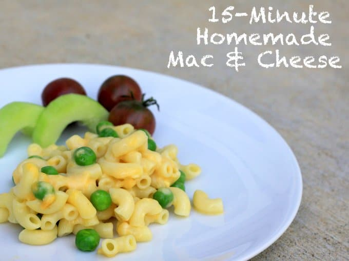 15-Minute Homemade Macaroni & Cheese
