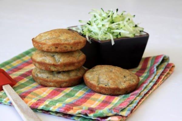 zucchini muffin tops
