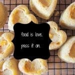 food is love. pass it on.