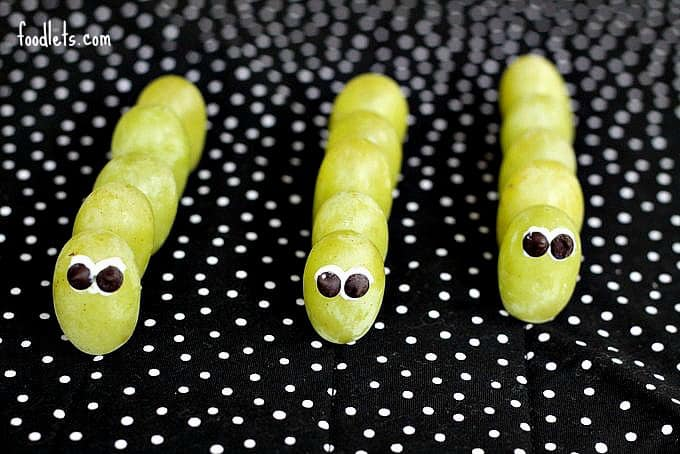 green grape caterpillars, foodlets.com