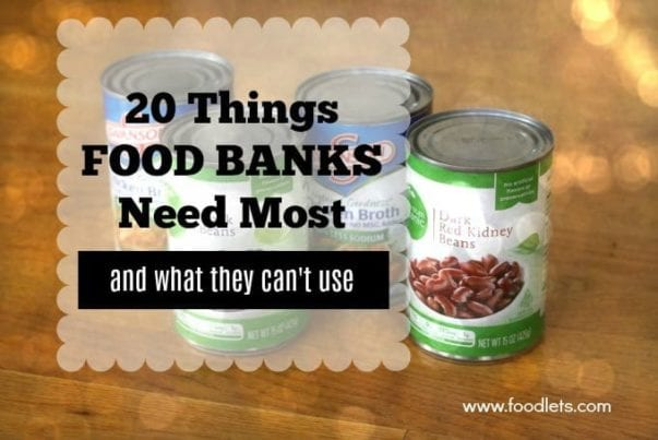 What Food Banks Need Most (And What They Can't Use)