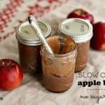 no sugar slow cooker apple butter