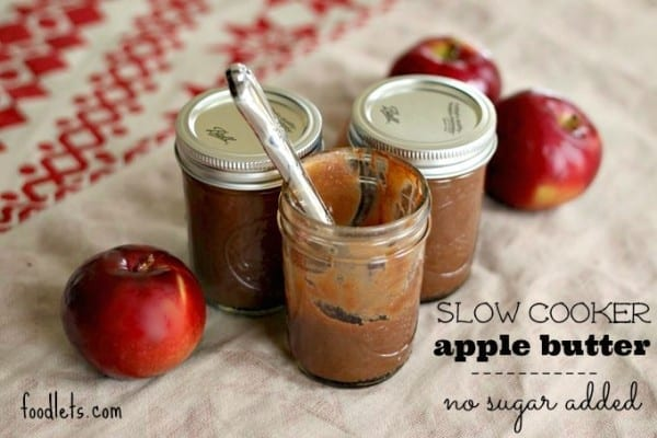 Slow Cooker Apple Butter (No Sugar Added)