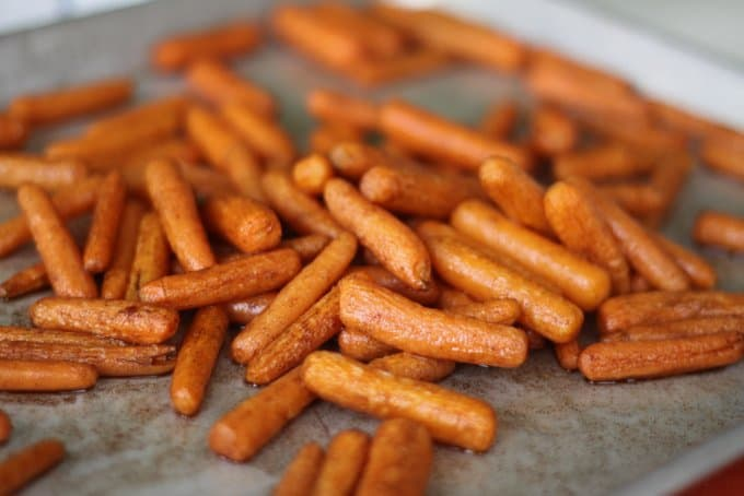Maple Roasted Baby Carrots: An Easy Vegetable Side Dish Kids Love — Prepped In 2 Minutes Flat