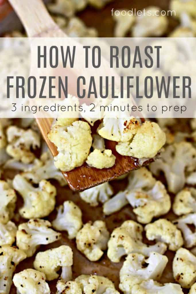 how to roast frozen cauliflower