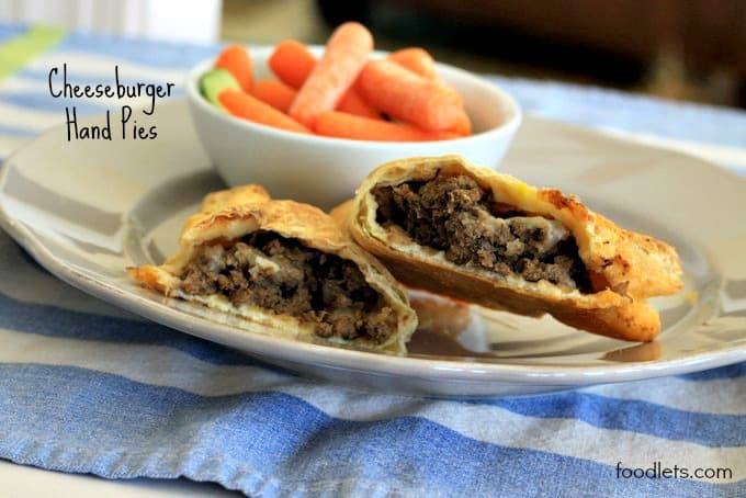 cheeseburger hand pies, foodlets