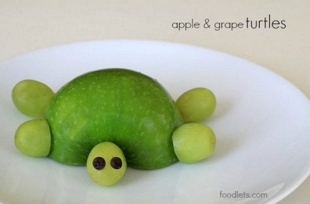 apple & grape turtles