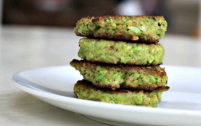 broccoli patties, foodlets