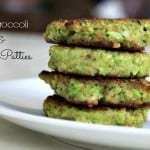 mini broccoli and cheese patties foodlets