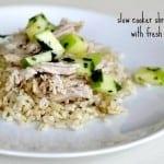 slow cooker shredded pork with fresh apples, foodlets