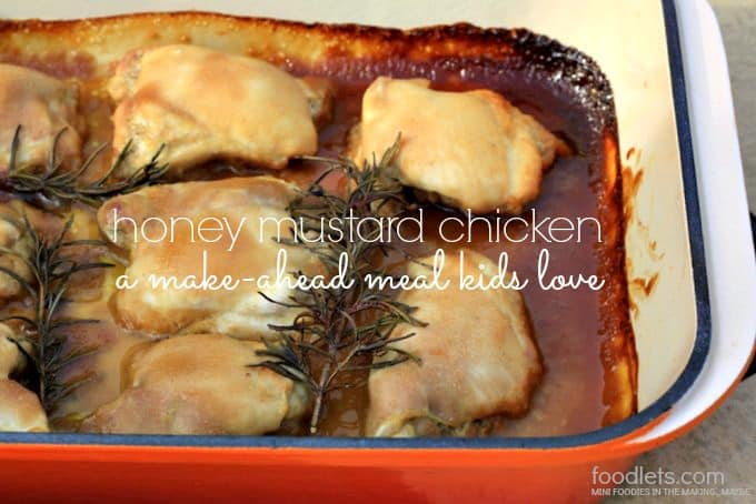 Make-Ahead Honey Mustard Chicken