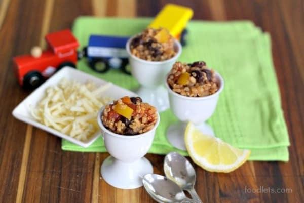 one-pot mexican casserole, foodlets, lemon