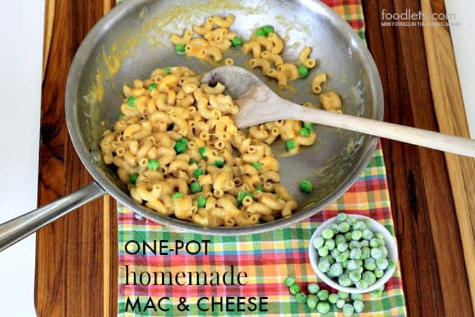 one-pot homemade mac & cheese