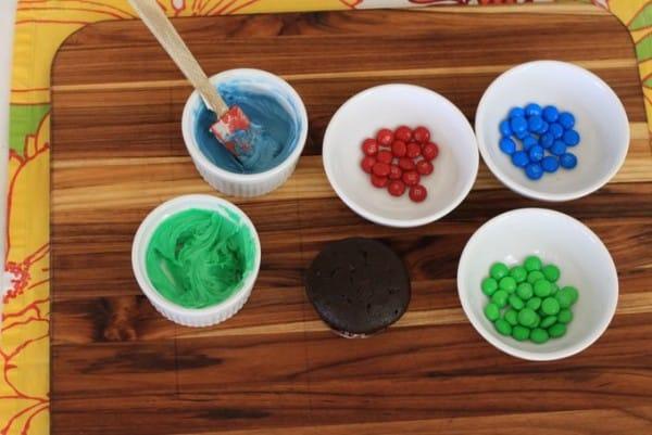fish cupcake plain